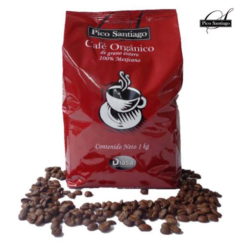 CAFÉ MOLIDO PICO SANTIAGO DESCAFEINADO 1KG