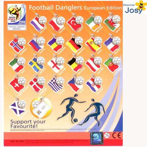 football Europeo colgante